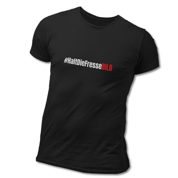 "Soli-T-Shirt ""#HaltDieFresseBILD"""