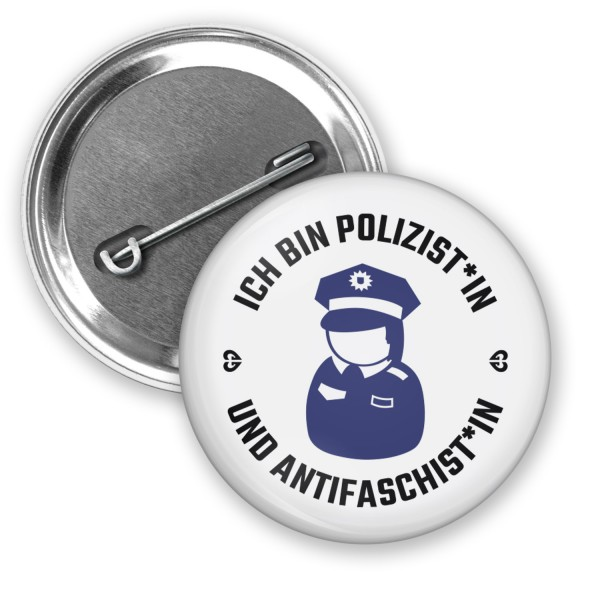 "Button ""Ich bin Polizist*in"" (Ø 38mm)"