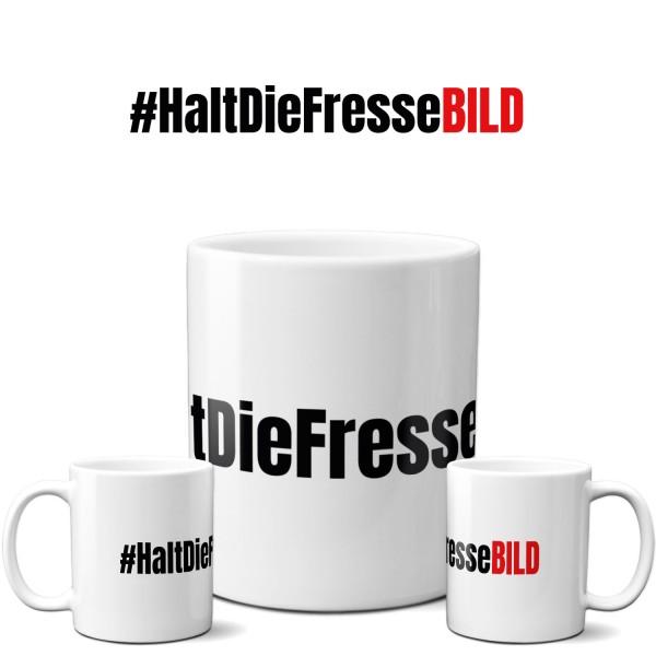"""Soli-Tasse """"#HaltDieFresseBILD"""""""