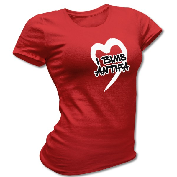 Shirt tailliert »I bims ANTIFA«