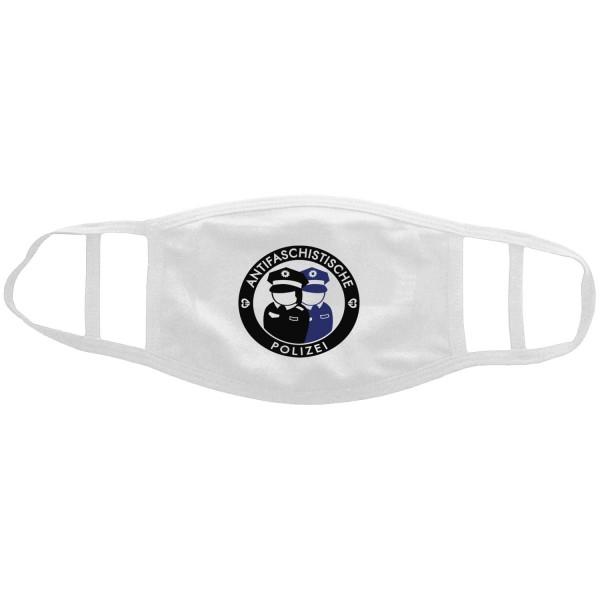 """Mund-Nasen-Maske """"Antifaschistische Polizei"""""""