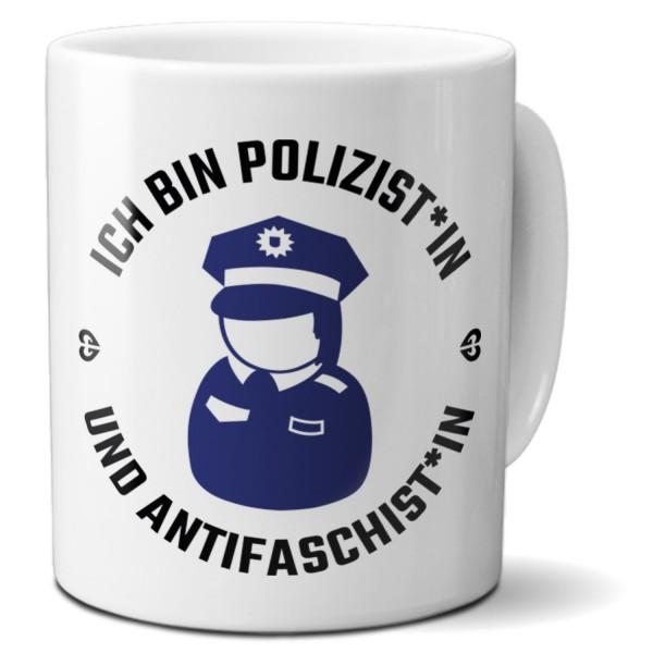 """Tasse """"Ich bin Polizist*in"""""""