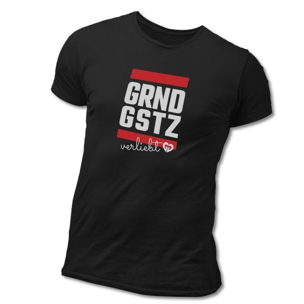 """T-Shirt """"GRNDGSTZ verliebt"""""""