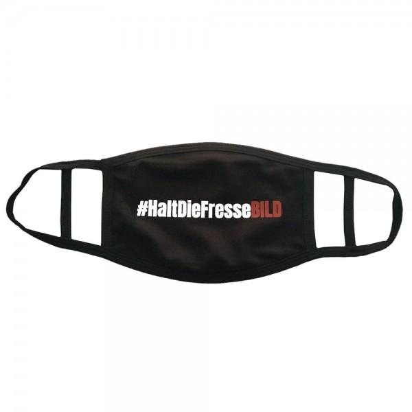 """Soli-Mund-Nasen-Maske """"#HaltDieFresseBILD"""""""