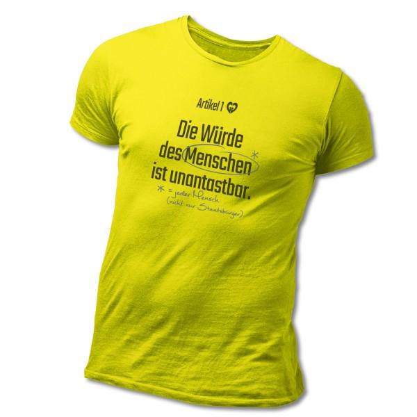 """T-Shirt """"Artikel 1 GG"""""""