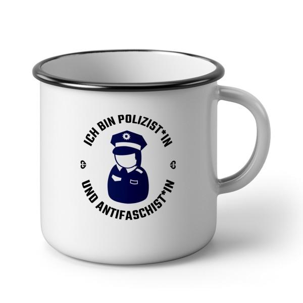 """Emaillebecher """"Ich bin Polizist*in"""""""