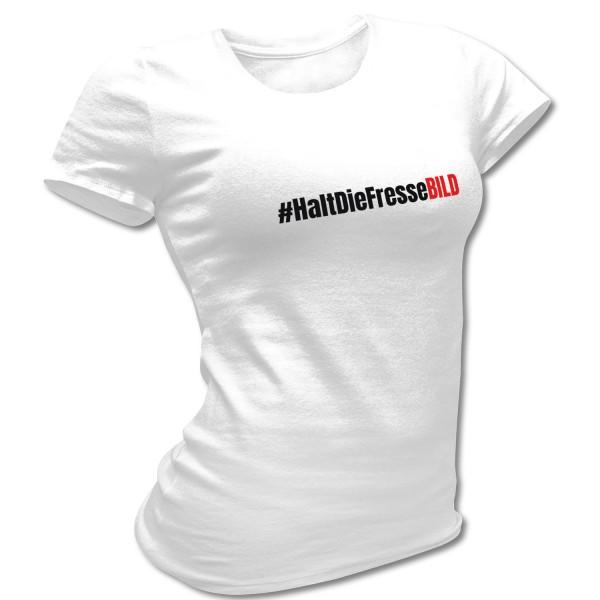 "Soli-Girlieshirt ""#HaltDieFresseBILD"""